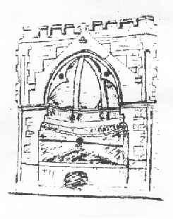 Sketch of the well restored in 1865